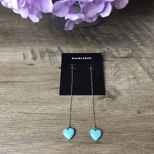 Baublebar Heart Drop Earrings